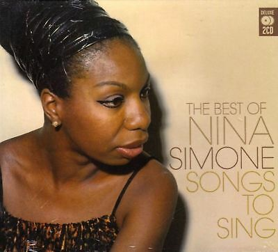 NINA SIMONE songs to sing (the best of...(2X CD) VG/EX MCDLX026 soul-jazz