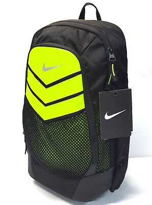 official photos 07f0f 3bf7d Nike Vapor Power XL Backpack with Laptop Sleeve Color Black Volt BA5246 010