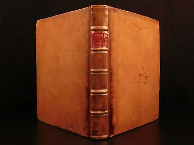 1789 1ed PRISONS Lazarettos PLAGUE Hospitals Insanity Castles Illustrated Howard