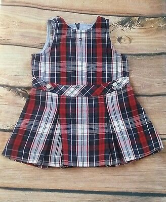 975a98d0 Tommy Hilfiger Baby Girl Dress Size Red White & Blue Plaid 6 - 12 Months