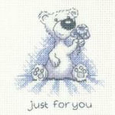 Just For You Cross Stitch Card Kit