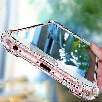 For Xiaomi Redmi S2/5 Plus/4A/4X/3S Shockproof Soft Transparent TPU Case Cover