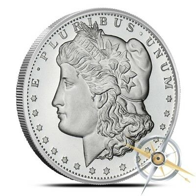 1 oz Silver Round - Golden State Mint - Morgan Dollar Design .999 Fine - New