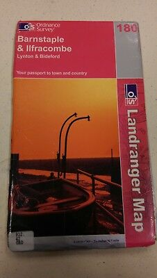 Barnstaple and Ilfracombe: Landranger 180: Ordnance Survey Map