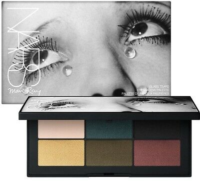 NEW NARS Man Ray Les Larmes Glass Tears Eyeshadow Palette LIMITED EDITION #8360