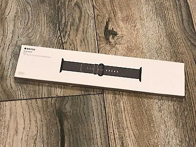 Apple Watch Woven Nylon Band 38Mm Black Mm9L2Am/a, Authentic & Factory Sealed