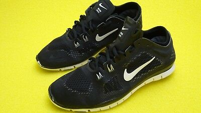 size 40 65616 1d517 Womens Nike Free 5.0 TR Fit 4 Black and white Sz 10 trainer 629496 001 Good