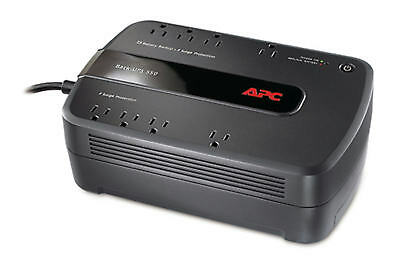 APC BE550G Back-UPS 120V 330W 550VA Battery Backup and surge Protection REF