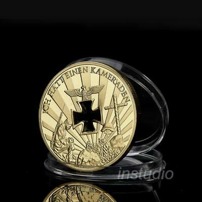 Nazi Germany, 1914-1945, Never Forget, Gold Color Million Commemorative Coin,';