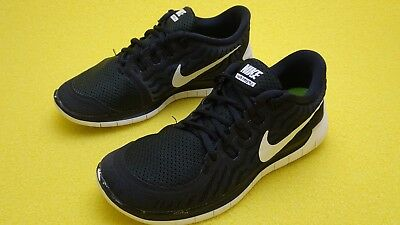 the best attitude 00d85 c8c1d NIKE FREE 5.0 Women's Running Shoes 724383-002 Black/White/Anthracite Sz 6
