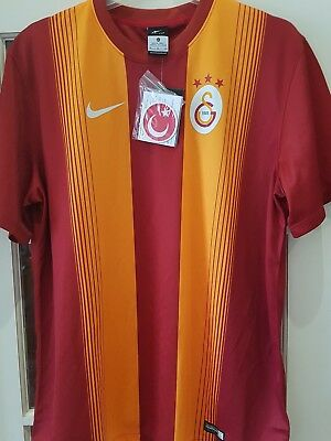 Galatasaray 2014/15 S/s Home Shirt By Nike Adults Size Xl Bnwt