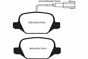 EBC ULTIMAX FRONT PADS DP197 FOR VAUXHALL CARLTON 2.0 D 81-82