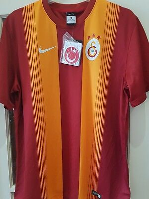 Galatasaray 2014/15 S/s Home Shirt By Nike Adults Size 2Xl Bnwt