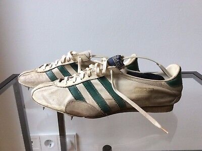 Adidas Vintage Spikes Intervall - UK 7.5  Made in West-Germany