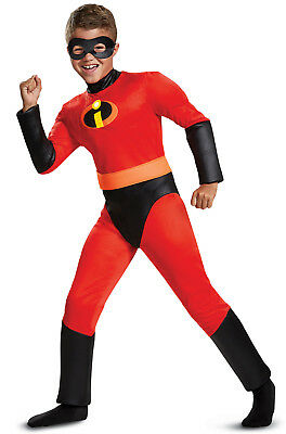 Brand New The Incredibles 2 Dash Classic Muscle Child Costume