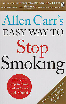 Allen Carr's Easy Way to Stop Smoking (Paperback) New Book