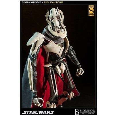 Sideshow Star Wars General Grievous 1/6 Scale Exclusive (extra faceplate) New