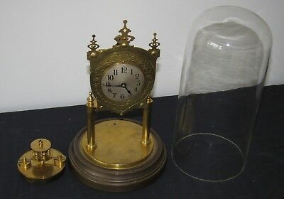 Very Rare & Unusual 400 Day, Torsion, Anniversary Clock