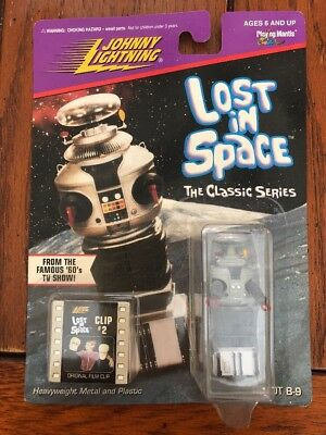 Lost in Space The Classic Series Robot B-9 from Johnny Lightning - 1998 Clip 2