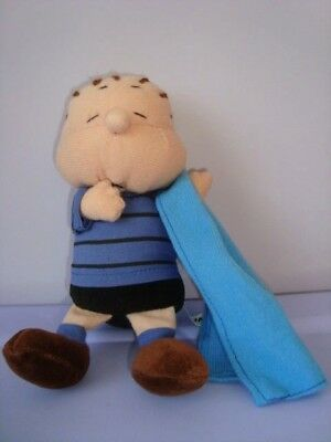 LINUS Charlie Brown UFS PEANUTS SCHULZ SNOOPY pupazzo peluche bambola soft toy