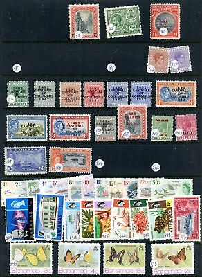 Weeda Bahamas Valuable Mint and used collection, offered as received Old CV $520