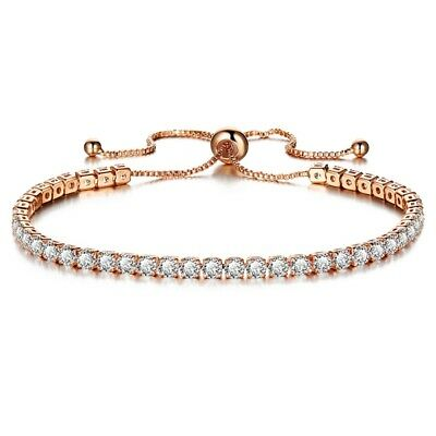 Women's Rhinestone Crystal Bracelet Adjustable Bangle New Fashion Cuff Jewelry