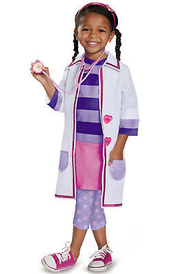 Brand New Doc McStuffins Toy Hospital Deluxe Toddler Costume