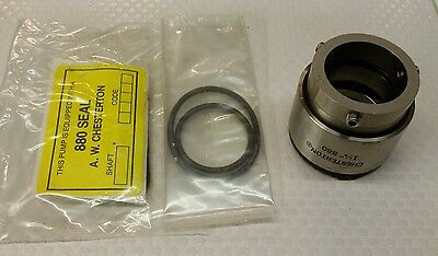 Chesterton Mechanical 880E Seal 052345 Seal Size-09 Shaft Size 1.125""