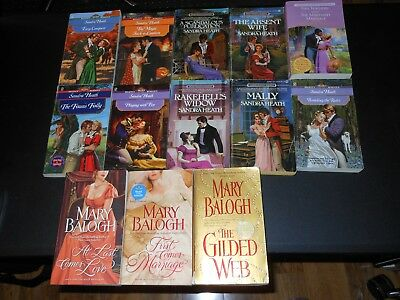 Lot of 17 Regency Romances *Balogh, Heath, Metzger, & Chesney (J9)