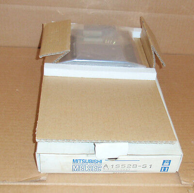 A1S52B-S1 Mitsubishi PLC NEW In Box Extension Rack Base 2-Slot Module A1S52BS1