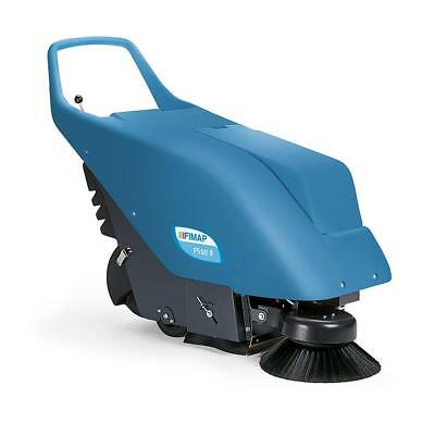 Fimap FS50B Battery Powered Small Walk Behind Sweeper - WA