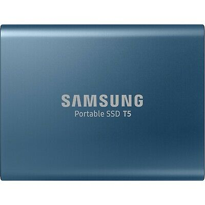 "Samsung T5 250GB 2.5"" USB 3.1 Type C Portable External Solid State Drive SSD HDD"