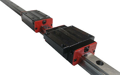 HG20 20mm Linear Rail Guide Actuator Slide CNC 750 1000 1500 mm 1M 1.5M HGR20 US