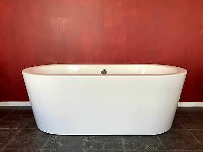 8cm thick Japan Acrylic Free Standing Bath Tub 1700 x 800 RRP$999 +OVERFLOW