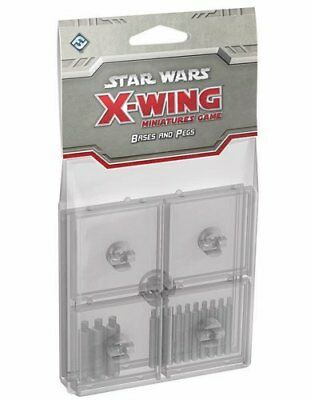Star Wars X-Wing: Clear Bases & Pegs