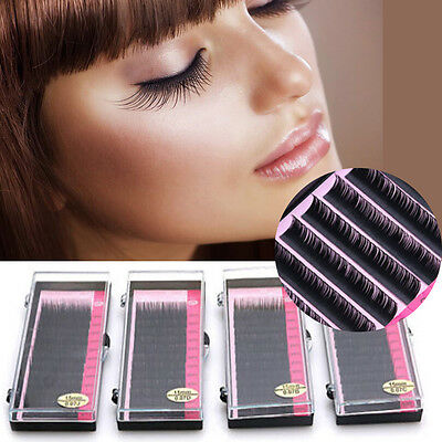 8mm-14mm Mink Blink Lashes Tray Lash C D Curl For Individual Eyelash Extensions