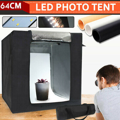 🔥 64cm Portable Photo Studio Shooting Light Tent Cube Soft Box Room Photography