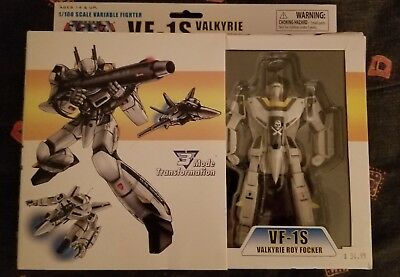 Toynami Robotech Macross 1/100 Roy Focker VF-1S Valkyrie 3 mode Transformation