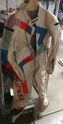 Dainese Leather one piece race suit - Mens Eur Size 50