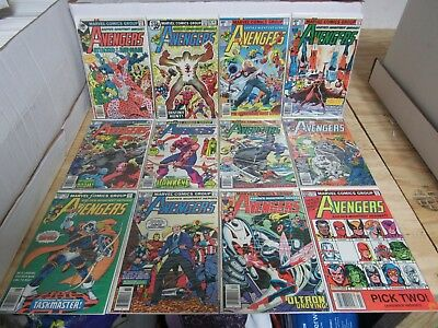 Avengers vol.1 (1963) #s 161-360 + Annuals 7-19 (43 Issues)