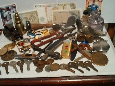 True Vintage, Estate, RAREs, More , Mens JUNK DRAWER LOT UNSEARCHED  UNTESTED