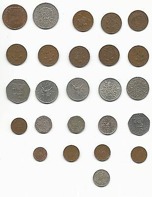 Great Britain UK Coin Lot Shilling Pence Penny Crown 1958 1960 1966 1970 1971 ++