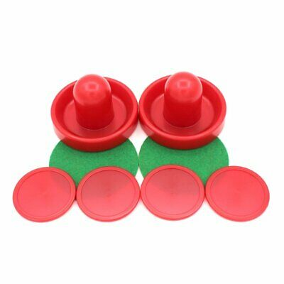 Air Hockey Set Home Table Game Replacement Accessories Pucks Slider Pusher HU