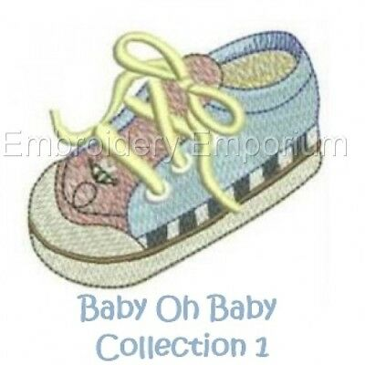 Baby Oh Baby Collection  1 - Machine Embroidery Designs On Cd