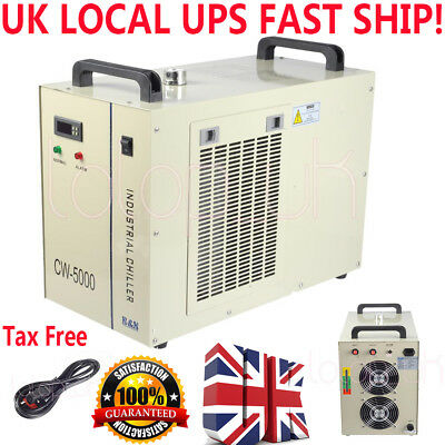 New CW-5000 Water Chiller CNC/CO2 Laser Cutter/Engraver CW5000 220V UK FAST Ship