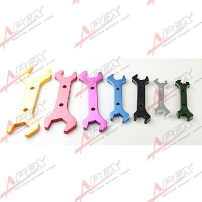 AN4/6/8/10/12/16/20 To AN3/4/6/8/10/12/16 Double Ended Wrench Spanner Aluminum