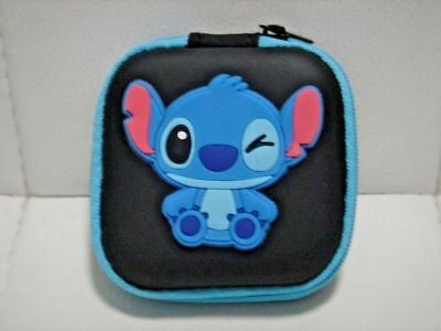 NEW Lilo and Stitch Cartoon Kids Boys Girls Rubber Coin Purse Wallet Headset Bag
