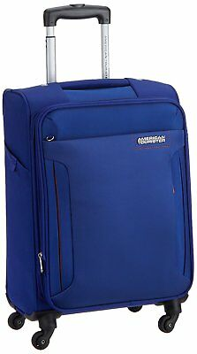 American Tourister Troy Polyester 56 cm Royal Blue Softsided Carry (ROYAL BLUE)