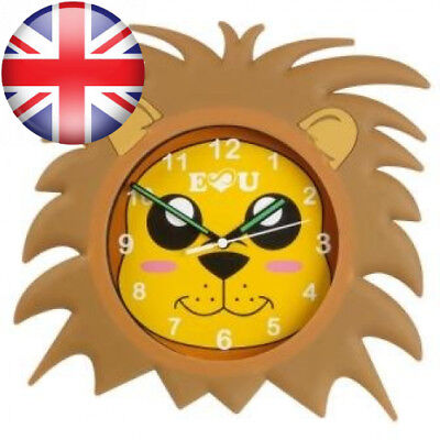 Aniclock Lion Wall Clock time teacher a perfect gift for Boys and Girls, the...