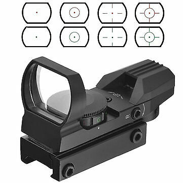 AURKTECH Hunting HD101 Tactical 1X22mm Airsoft Green Red Dot Reflex Sight With 4